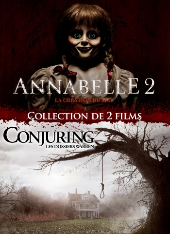PACK ANNABELLE 2 - CONJURING : LES DOSSIERS WARREN