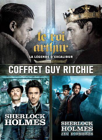 PACK GUY RITCHIE (LE ROI ARTHUR : LA LÉGENDE D'EXCALIBUR - SHERLOCK HOLMES - SHERLOCK HOLMES 2)