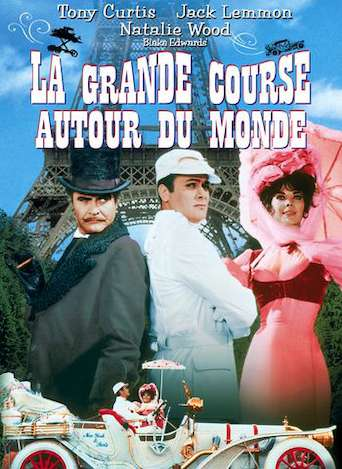 la grande course autour du monde blake edwards film t l charger en vod la grande course. Black Bedroom Furniture Sets. Home Design Ideas