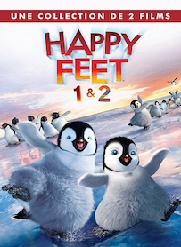 Affiche du film PACK HAPPY FEET 1 ET 2