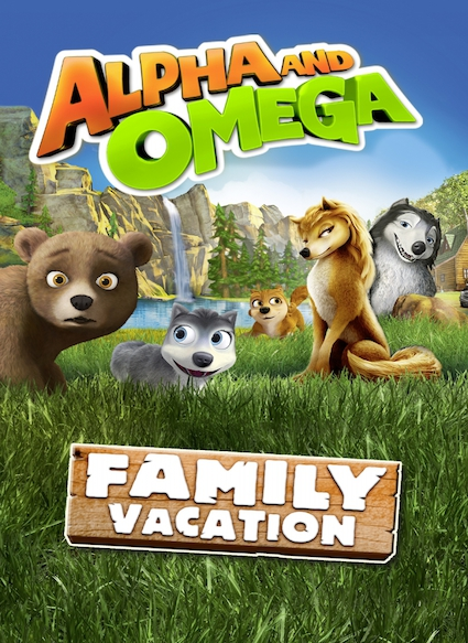 Affiche du film ALPHA AND OMEGA: FAMILY VACATION