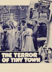 Affiche du film The Terror of Tiny Town