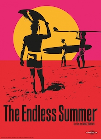 Affiche du film The Endless Summer : l été sans fin (VERSION RESTAURÉE)