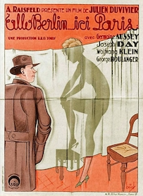 Affiche du film ALLO BERLIN ICI PARIS