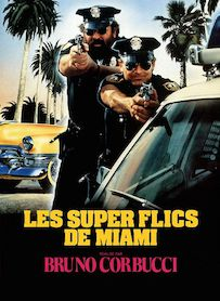Affiche du film Les super-flics de Miami