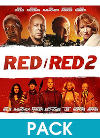 Affiche du film PACK RED 1 ET RED 2