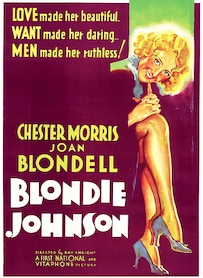 Affiche du film BLONDIE JOHNSON