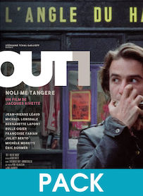 Affiche du film PACK OUT 1 - INTÉGRALE (VERSION RESTAURÉE)