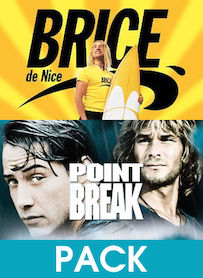 Affiche du film PACK BRICE DE NICE - POINT BREAK
