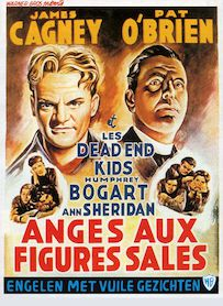 Affiche du film LES ANGES AUX FIGURES SALES