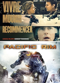 Affiche du film PACK EDGE OF TOMORROW - PACIFIC RIM