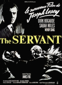 Affiche du film THE SERVANT
