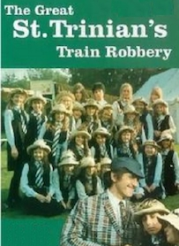 Affiche du film THE GREAT ST. TRINIAN S TRAIN ROBBERY