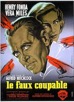 LE FAUX COUPABLE (THE WRONG MAN) DE ALFRED HITCHCOCK (1956)