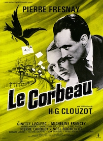 Affiche du film LE CORBEAU (VERSION RESTAURÉE)