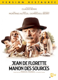 Affiche du film MANON DES SOURCES (VERSION RESTAURÉE)