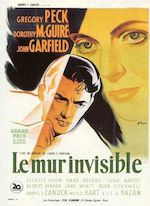 LE MUR INVISIBLE / GENTLEMAN'S AGREEMENT DE ELIA KAZAN  (1947)