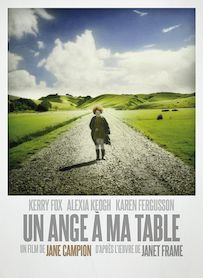 Affiche du film UN ANGE A MA TABLE