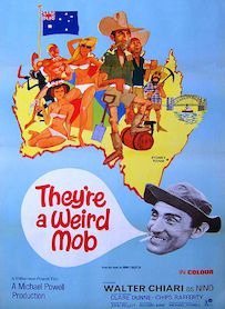 Affiche du film THEY RE A WEIRD MOB