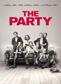 Affiche du film THE PARTY