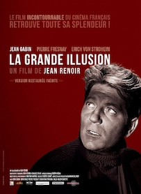 Affiche du film LA GRANDE ILLUSION (VERSION RESTAURÉE)