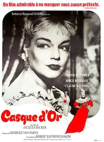 Affiche du film CASQUE D OR