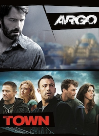 Affiche du film PACK BEN AFFLECK (ARGO - THE TOWN)