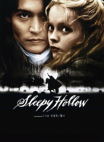 Affiche du film SLEEPY HOLLOW, LA LEGENDE DU CAVALIER SANS TETE