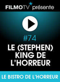 Affiche du film LE (STEPHEN) KING DE L'HORREUR
