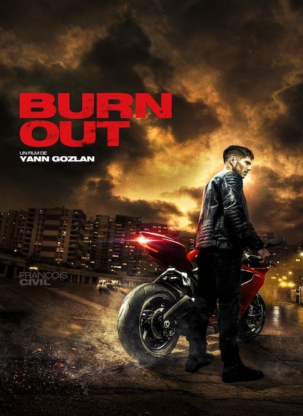 Affiche du film BURN OUT