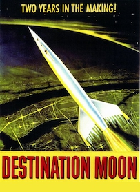 Affiche du film DESTINATION... LUNE !