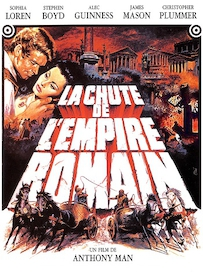 Affiche du film LA CHUTE DE L EMPIRE ROMAIN