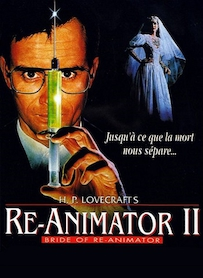 Affiche du film RE-ANIMATOR 2