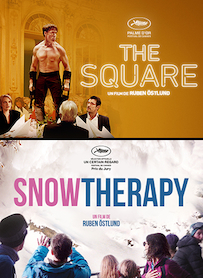 Affiche du film PACK SNOW THERAPY - THE SQUARE