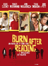 Affiche du film BURN AFTER READING