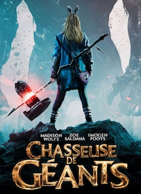 Affiche du film CHASSEUSE DE GEANTS