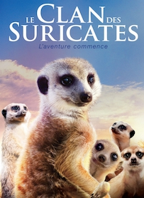 Affiche du film LE CLAN DES SURICATES