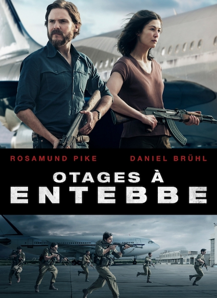 Affiche du film OTAGES A ENTEBBE