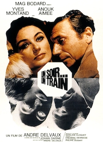 Affiche du film UN SOIR, UN TRAIN