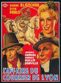 Affiche du film L AFFAIRE DU COURRIER DE LYON