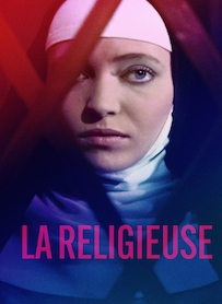 Affiche du film LA RELIGIEUSE (VERSION RESTAURÉE)