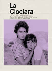 Affiche du film LA CIOCIARA (VERSION RESTAURÉE)