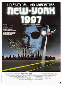 Affiche du film NEW YORK 1997 (VERSION RESTAURÉE)