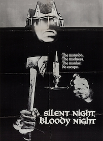 Affiche du film SILENT NIGHT BLOODY NIGHT