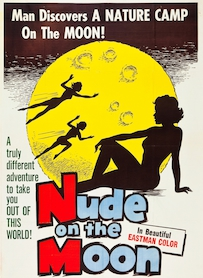 Affiche du film NUDE ON THE MOON