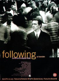 Affiche du film Following, le suiveur