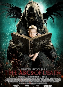 Affiche du film THE ABC S OF DEATH