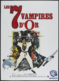 Affiche du film Les sept vampires d or
