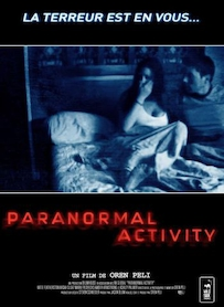 Affiche du film Paranormal Activity