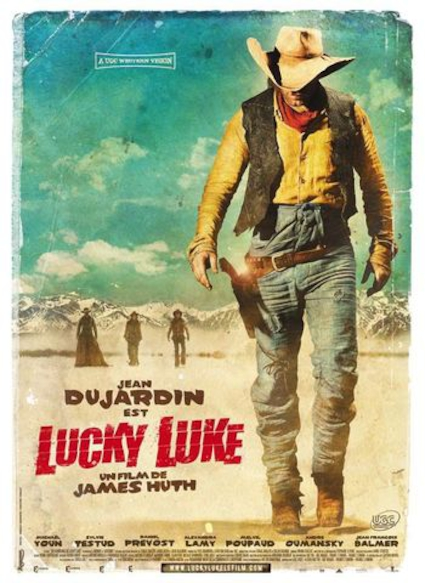 Affiche du film LUCKY LUKE